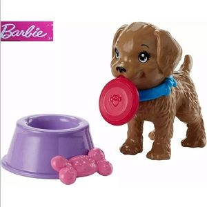 🐶 BARBIE PUPPY PLAY SET 🐶
